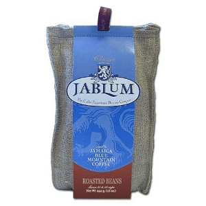 JABLUM Roasted Beans 100% Jamaican Blue Mountain Coffee