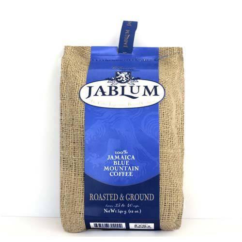 16oz JABLUM Jamaica Blue Mountain Coffee Roasted Ground